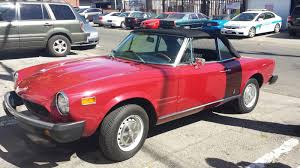 fiat convertible 1975 fiat spider convertible italian cars for sale pinterest