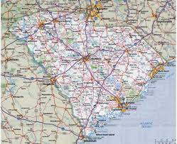 Road Map Of Southern Usa by Maps Of South Carolina State Collection Of Detailed Maps Of