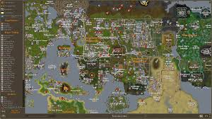World Map Runescape 2007 by Runescape World Map And Old Roundtripticket Me