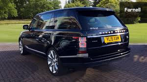 land rover black 2015 used land rover range rover 5 0 v8 s c autobiography black lwb 4dr