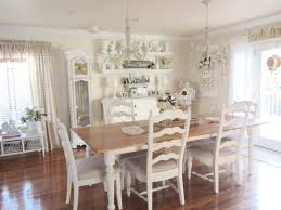white dining room chandelier and glamorous crystal in transitional