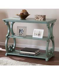 powell scroll console table deal alert lariviere scroll console table