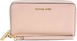light pink michael kors wallet michael kors card holders shop up to 41 stylight