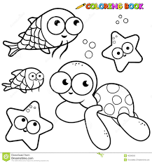 outstanding ocean fish coloring pages unusual article