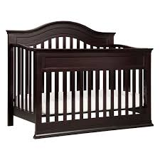 Dark Wood Nursery Furniture Sets by Davinci 2 Piece Nursery Set Brook 4 In 1 Convertible Crib And 4