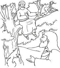 100 ideas printable coloring pages zacchaeus emergingartspdx