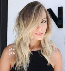 thin hair with ombre 50 cute long layered haircuts with bangs 2017