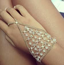 bracelet ring silver images 13 best ring bracelet images chain ring bracelet jpg