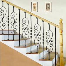 practical upscale wrought iron indoor stairs global sources