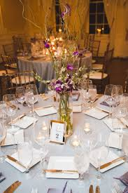 Curly Willow Centerpieces Royal Purple At Graydon Hall Manor