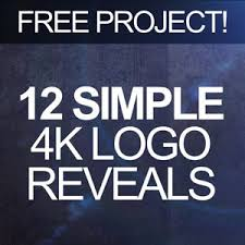simple logo reveal pack free after effects templates