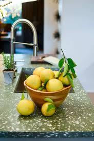 Fruit Decor For Kitchen 7 Decorating Tips For A Green Kitchen Crazy For Crust