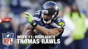 seahawks 49ers thanksgiving thomas rawls u0027 209 yard rushing game week 11 49ers vs