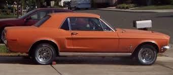 1969 mustang orange orange mustangs at mustangattitude com
