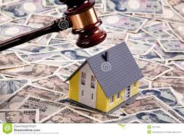 real estate crisis in yen financing stock photo image 9541350