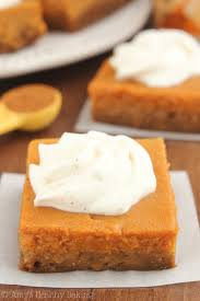 Crustless Pumpkin Pie by Skinny Pumpkin Cheesecake Bars Amy U0027s Healthy Baking