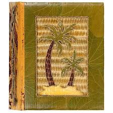 Handmade Photo Albums Amazon Com All Natural 80 Photo Handmade Photo Album Two Palm