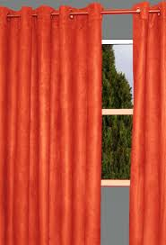 Burnt Orange Curtains Curtains Bright Orange Curtains Ideas Burnt Orange Drapes Single