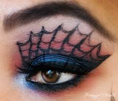 pretty halloween eye makeup halloween makeup amazing spiderman inspired makeup look