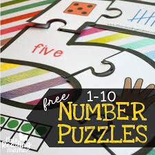 printable number puzzles 1 10