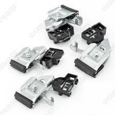 elevalunas deslizadores metal delantero derecho para audi a4 b5