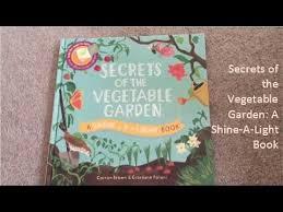 usborne reading corner secrets of the vegetable garden a shine