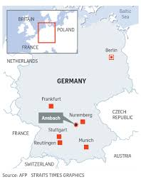 Germany On A World Map by Syrian Bomber Pledged Allegiance To Isis German Minister