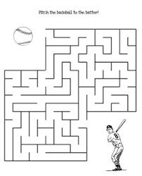 printable hard maze games printable baseball maze game to print printable treats com