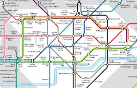 London Subway Map by London Tube Map