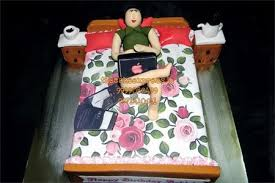 always on bed cake online cake for lazy friend delivery noida