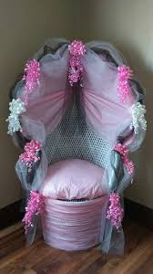 decorated wicker baby shower chair by vivian lopez u2026 pinteres u2026
