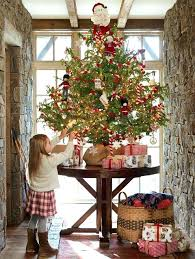 georgeous decorated tabletop trees for home ideas