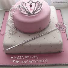 cake for princess with name