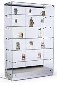 Specialty Lighting Curio Cabinet Amazon Com Tempered Glass Curio Cabinet With 8 Halogen Lights 78