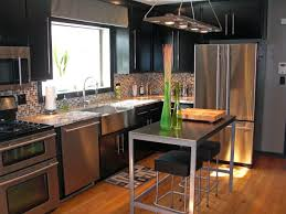 quartz modern kitchen countertop in an industrial style kitchen quartz modern kitchen countertop in an industrial style kitchen with modern pendant lamp and stainless steel appliances