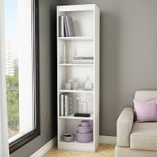White Book Shelves by Remmington Heavy Duty Bookcase White Hayneedle