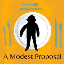 a modest proposal summary enotes com