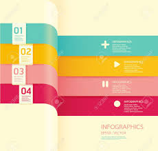 modern soft color design template can be used for infographics