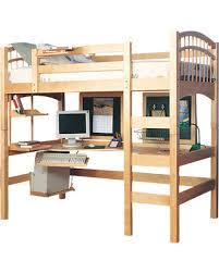 study bunk bed sleep study loft pbteen compact hybrid bunk beds