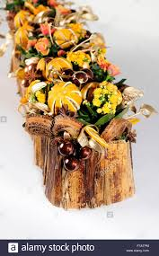 flowers floral tablecentre christmas home design natural