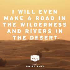nkjv verse of the day isaiah 43 16 18 19 god faith family