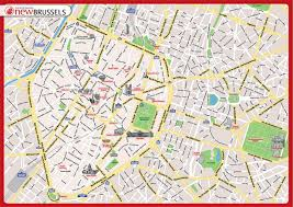 map brussels map of brussels tourist new zone