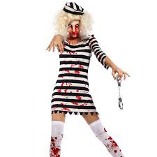 ladies zombie costume undead scary horr ghost halloween hen night