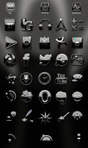 go theme launcher apk black silver go launcher theme 2 0 apk for android aptoide