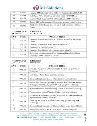 Bca Floor Plan Diploma Project Titles 2013 For Cse It Eee Ece B Sc Bca Project U2026