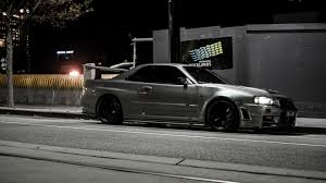 nissan skyline gtr r34 on street wallpapers and images