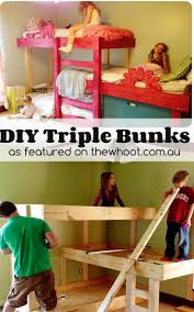 Triple Bunk Bed Designs 266 Best Bunk House Ideas And Trends Images On Pinterest Bunk