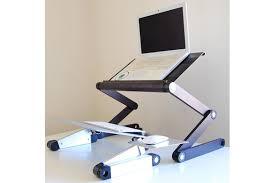Portable Standing Laptop Desk Impressive Adjustable Laptop Desk Superjare Portable Standing