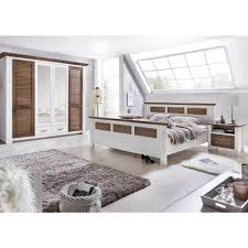 Schlafzimmer Bett Mit Matratze Laguna Schlafzimmer Set Mit Schrank 4 Trg Bett 180x200 Pinie