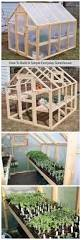 Garden Shed Greenhouse Plans How To Build A Simple Everyday Greenhouse Garden Pinterest